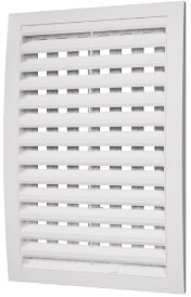 РРП, Решетка вентиляционная с регулируемым живым сечением, разъемная