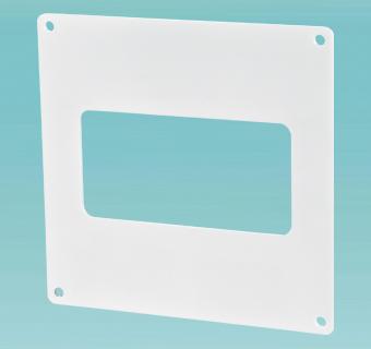 Пластина настенная для плоских каналов