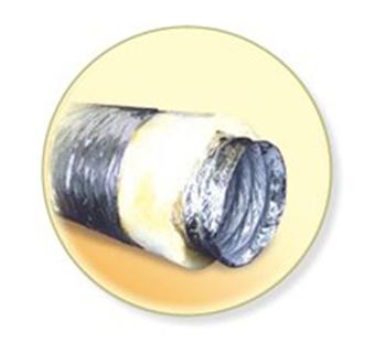 Теплоизолированные воздуховоды Диафлекс ISO ECO