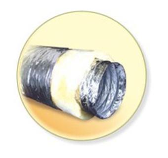 Теплоизолированные воздуховоды Диафлекс ISODF